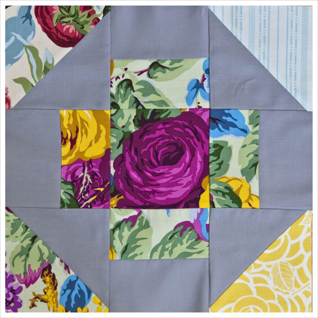 greek cross quilt block