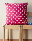 pink fuchsia pillow cover