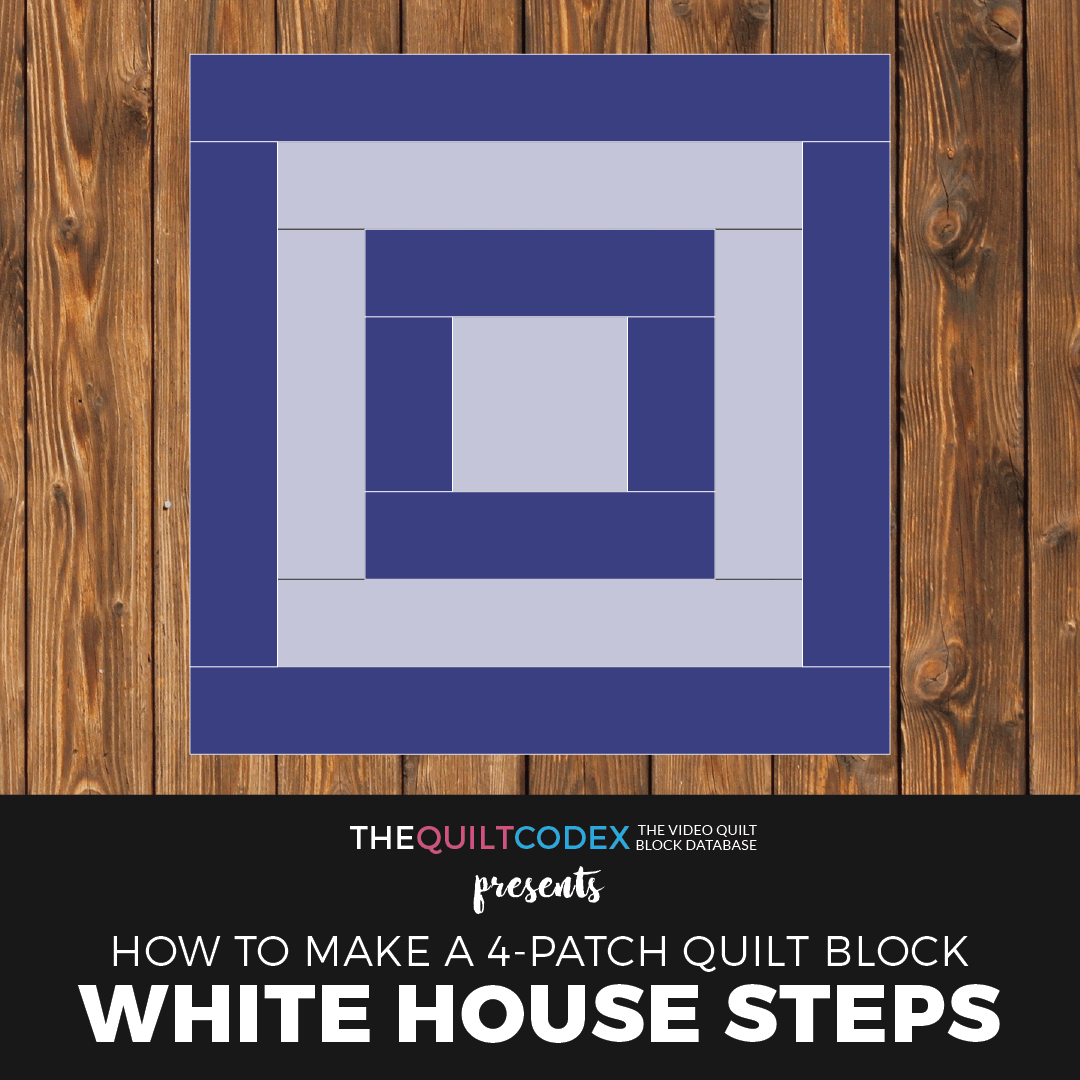 White House Steps quilt block